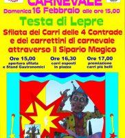 Carnevale Testa di Lepre 2020