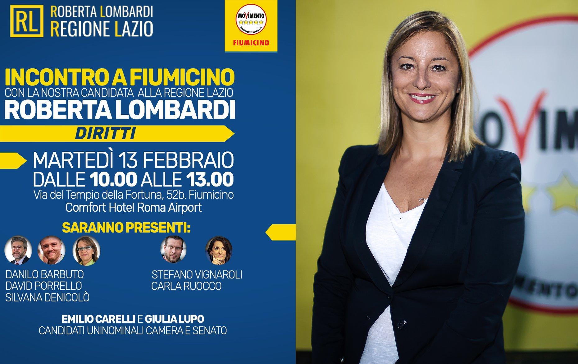 Raffaella Lombardi M5s