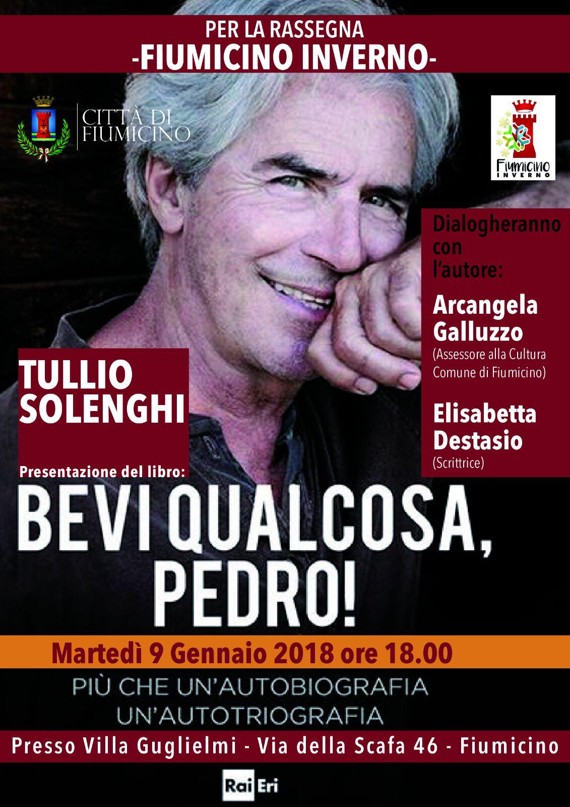 Tullio Solenghi 9 gennaio Fiumicino