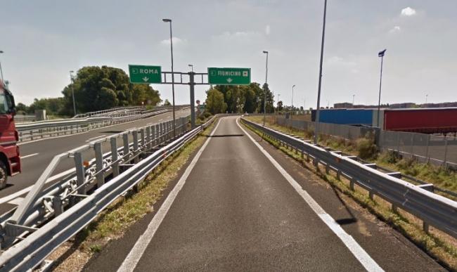 A12, venerdì notte chiusa rampa per Fiumicino