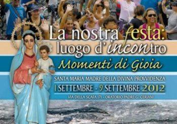 Festa Provvidenza, 1-9 settembre