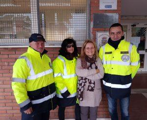 Volontari dei VVFF, angeli della scuola