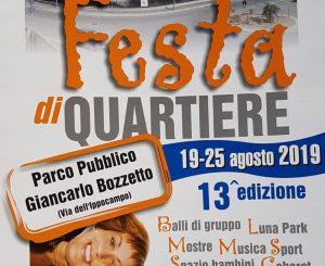 Festa di Quartiere a Pesce Luna il 19-25 agosto