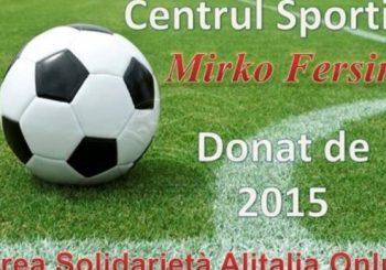 """Oggi nasce il """"Centrul Sportiv Mirko Fersini"""""""