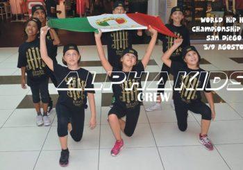 I piccoli ALPHA KIDS alle finali Mondiali di Hip Hop in California