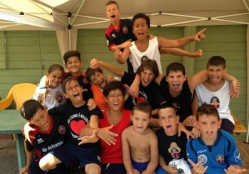 Fiumicino Calcio, summer camp