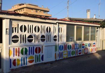 Lungomare Passoscuro, murales contro il degrado