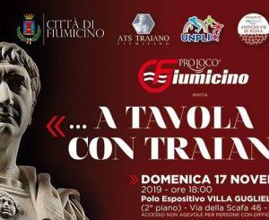 """Pro Loco Fiumicino, """"A tavola con Traiano"""" il 17 novembre"""