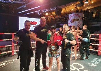 Federico Fava nuovo campione nazionale muay thai