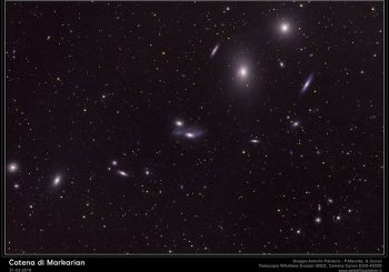 Gruppo Astrofili Palidoro si affaccia a 70 milioni di anni luce da noi