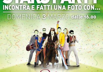 Carnevale, Stars Party al Parco Da Vinci il 3 marzo