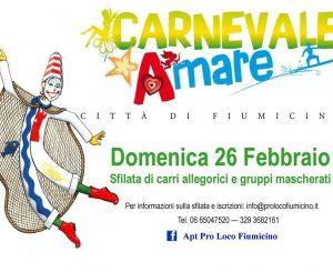 """""""Carnevale a Mare"""", XXIX edizione il 26 febbraio"""