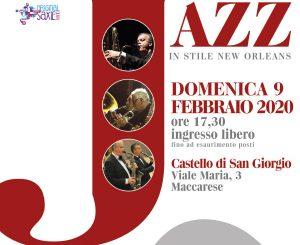 Maccarese, Concerto Jazz al Castello San Giorgio il 9 febbraio