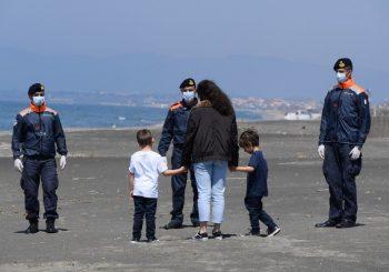 Spiagge riaperte dal 18 maggio in tutto il litorale comunale