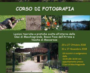 Oasi Wwf, al via il corso di fotografia naturalistica