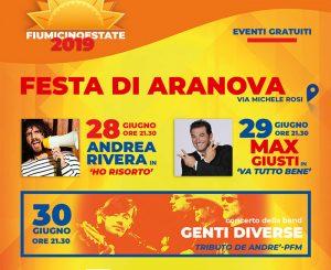 Fiumicino Estate, 3 giorni di festa ad Aranova