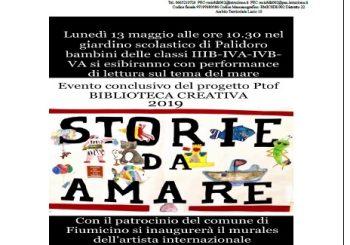 """Scuola di Palidoro, """"Storie da amare"""" il 13 maggio"""