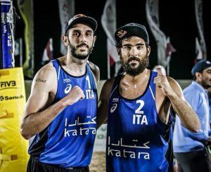 Beach volley, Lupo-Nicolai bronzo a Doha