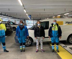 Confraternita Misericordia di Fiumicino, arrivati 2 nuovi automezzi