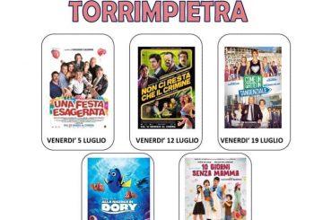 """A luglio, ogni venerdì """"Notti di cinema a Torrimpietra"""""""