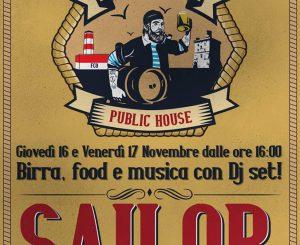 Sailor Public House, inaugurazione il 16-17 novembre