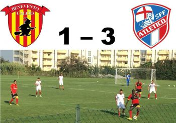 Clamoroso Sff Atletico, tris al Benevento in amichevole!