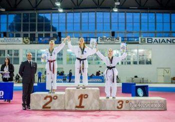 Taekwondo Ostia-Fregene, altre medaglie