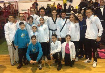 Taekwondo Ostia-Fregene, 8 ori nel week end