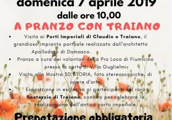 """""""A pranzo con Traiano"""" il 7 aprile"""
