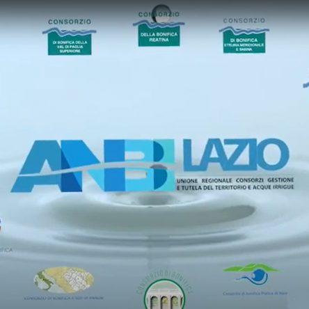Lo spot di Anbi Lazio, l'attività dei consorzi è insostituibile