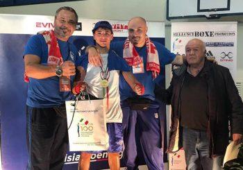 Boxe, Valerio Colantoni campione italiano juniores