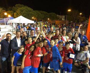 Boys 90 Fiumicino di nuovo campioni al Giuliobasket