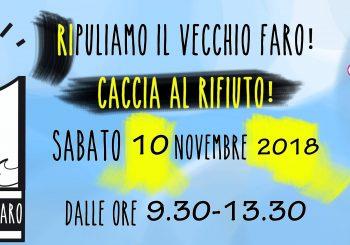 """""""Ripuliamo il vecchio Faro"""", caccia al rifiuto il 10 novembre"""
