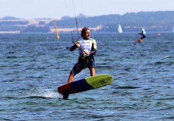 Mondiale Kite Foil, sul Garda Pierluigi Capozzi centra il bronzo