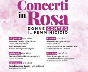 "A Fregene ""Concerti in Rosa"" dal 26 gennaio"