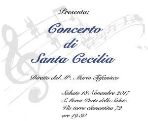 Banda Pro loco, concerto di Santa Cecilia il 18 novembre