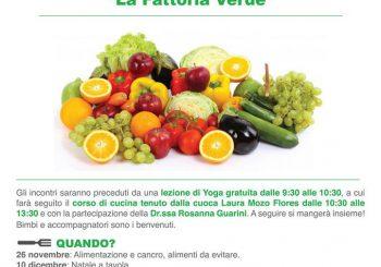 Palidoro, Cucina vegana alla Fattoria Verde il 26