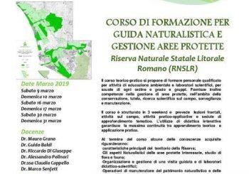 A marzo corso di Guida Naturalistica a Gestione Aree Protette