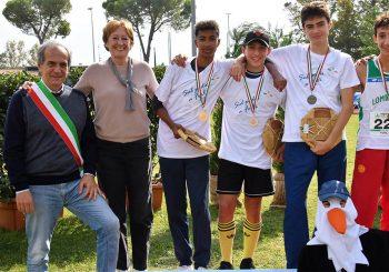 Atletica Under  16, Daniel Consiglio vice campione d'Italia