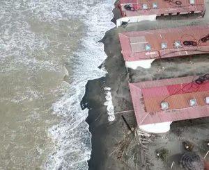 Fregene, l'erosione dal cielo fa ancora più paura