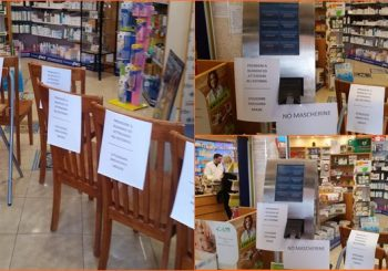 Farmacia sociale a Fiumicino, distanza e sicurezza per il coronavirus