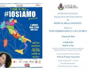 Festival della legalità a Maccarese, 19-21 luglio e 2-4 agosto
