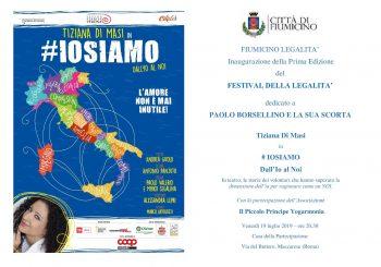 Festival della legalità a Maccarese, il 19-21 luglio e il 2-4 agosto