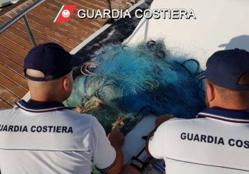 Pesca di frodo, sequestrate 200 metri di rete a Fiumara Grande