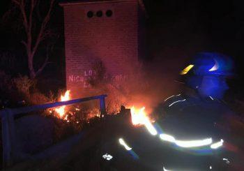 Maccarese, ieri sera a fuoco discarica abusiva in via dei Collettori