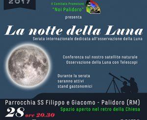 """Palidoro, """"La Notte della Luna"""" il 28 ottobre"""