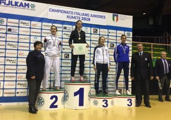 Campionati Italiani Juniores di kumite, Elena Lo Iacono arriva terza