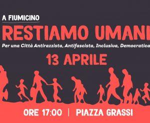 """Partiti di Maggioranza: """"Restiamo umani"""", sit-in 13 aprile contro politica dell'odio"""