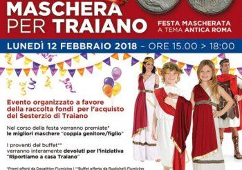 Tutti in maschera per Traiano il 12 febbraio