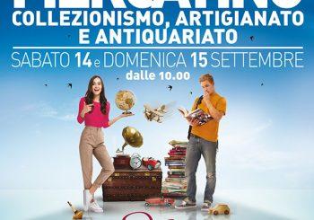 Parco Da Vinci, 14 e 15 settembre mercatino antiquariato, artigianato e collezionismo